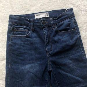 Garage Dark Wash Skinny Jeans